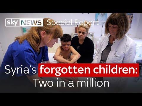 Syria's forgotten children: Two in a million