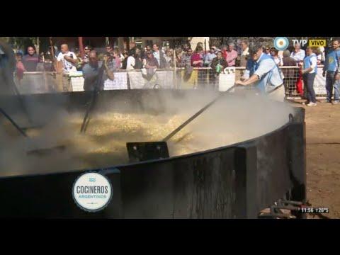 El arroz con pollo más grande del mundo en Colón