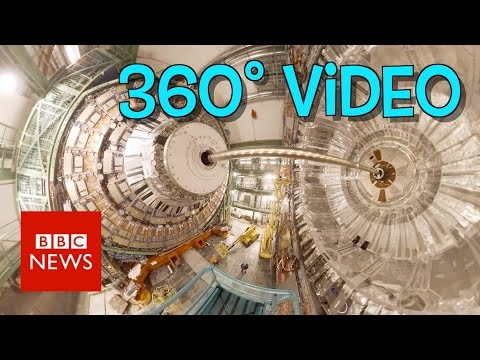 Step inside the Large Hadron Collider 360 video