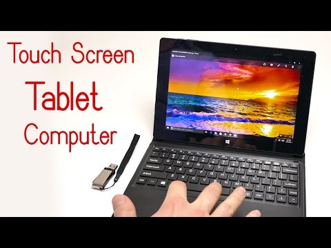 iRULU Walknbook 10.1 inch Touch Screen Tablet Computer 32GB Hybrid Laptop Review