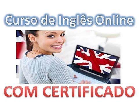 CURSO DE INGLÊS ONLINE - COM CERTIFICADO