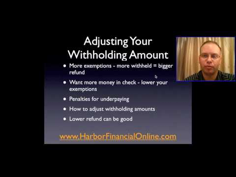 Federal Withholding Tables Calculator 2010, Highlights Harbor Financial
