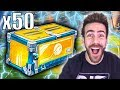 50 NEW ELEVATION ROCKET LEAGUE CRATE OPENING!!!