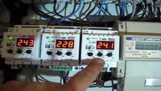 Электропроводка в загородном деревянном доме