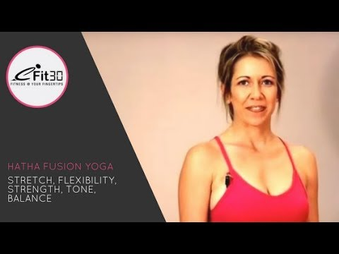 Hatha Yoga,  FULL 30 Minutes