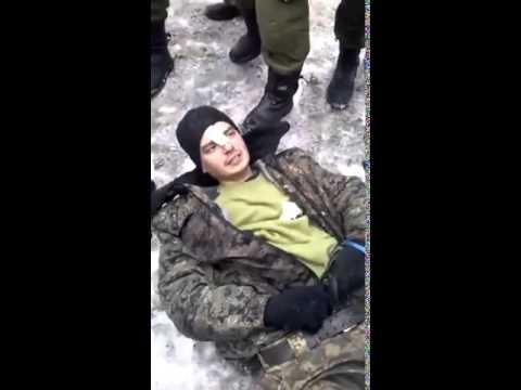Ополченцы наловили укропов под Дебальцево  Новороссия новости - DomaVideo.Ru