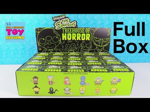 The Simpsons Treehouse Of Horror Kidrobot Vinyl Blind Box Figures Unboxing | PSToyReviews