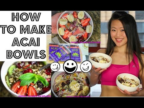 THE BEST ACAI SMOOTHIE BOWL RECIPES (PLUS CLEAN ICE CREAM RECIPE!)