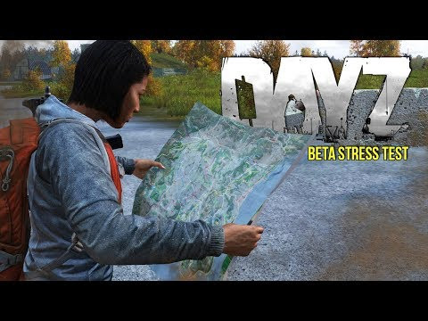 DayZ Beta Stress Test #1 ~ Cars, Base Building & More!