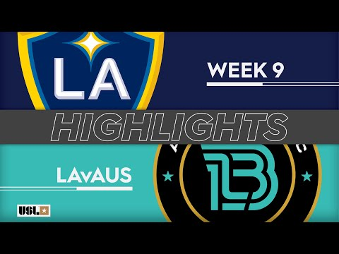 LA Galaxy 2 - Austin Bold 1:0. Видеообзор матча 05.05.2019. Видео голов и опасных моментов игры