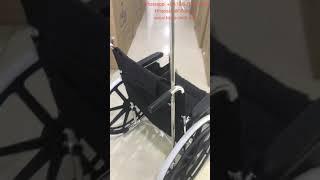 MRI compatible wheelchair / aluminum wheelchair youtube video