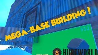 Mountain Base Part 2 | Hurtworld Best Base location | Building Mountain Mega base | Base Building