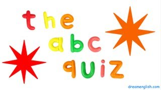 ABC Fun Kids Letter Quiz, Letters A to G
