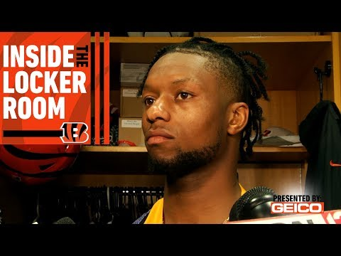Inside the Locker Room with Joe Mixon | Week 2 vs. San Francisco