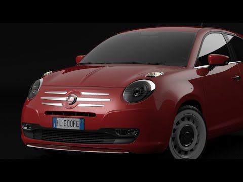 Fiat 600 60th Anniversary Concept HQ