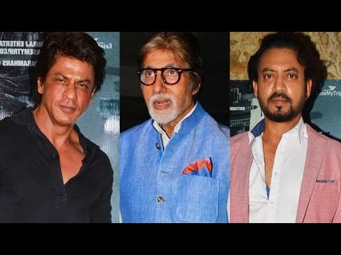 Amitabh Bachchan And Shah Rukh Khan Compliment Irr