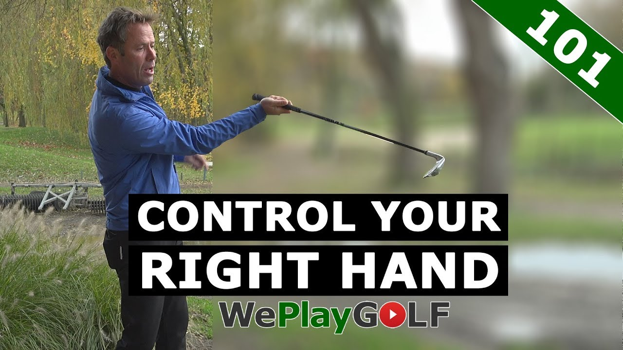 Control your right hand - pull, push and straight