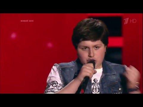 Голос.Дети.Максимилиан Хихинашвили смотреть онлайн (Эфир от 25.03.2016)