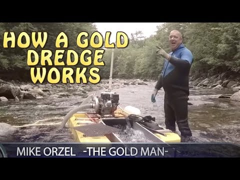 How A Gold Dredge Works + Mike Orzel Interview American Gold Prospectors Episode 1 Season 1