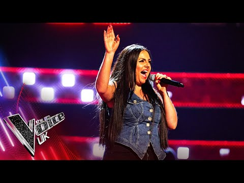 Rebecca Watkins' 'Back In Black' | Blind Auditions | The Voice UK 2021
