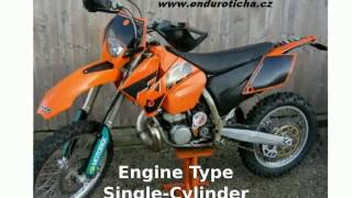 4. 2005 KTM EXC 300 Features, Walkaround
