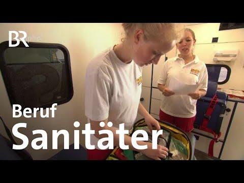 Notfallsanitäter/-in - Ausbildung - Beruf