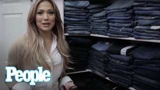 Video Jennifer Lopez Shows Us Inside Her Enormous Closet! | Hollywood at Home | People MP3, 3GP, MP4, WEBM, AVI, FLV September 2018