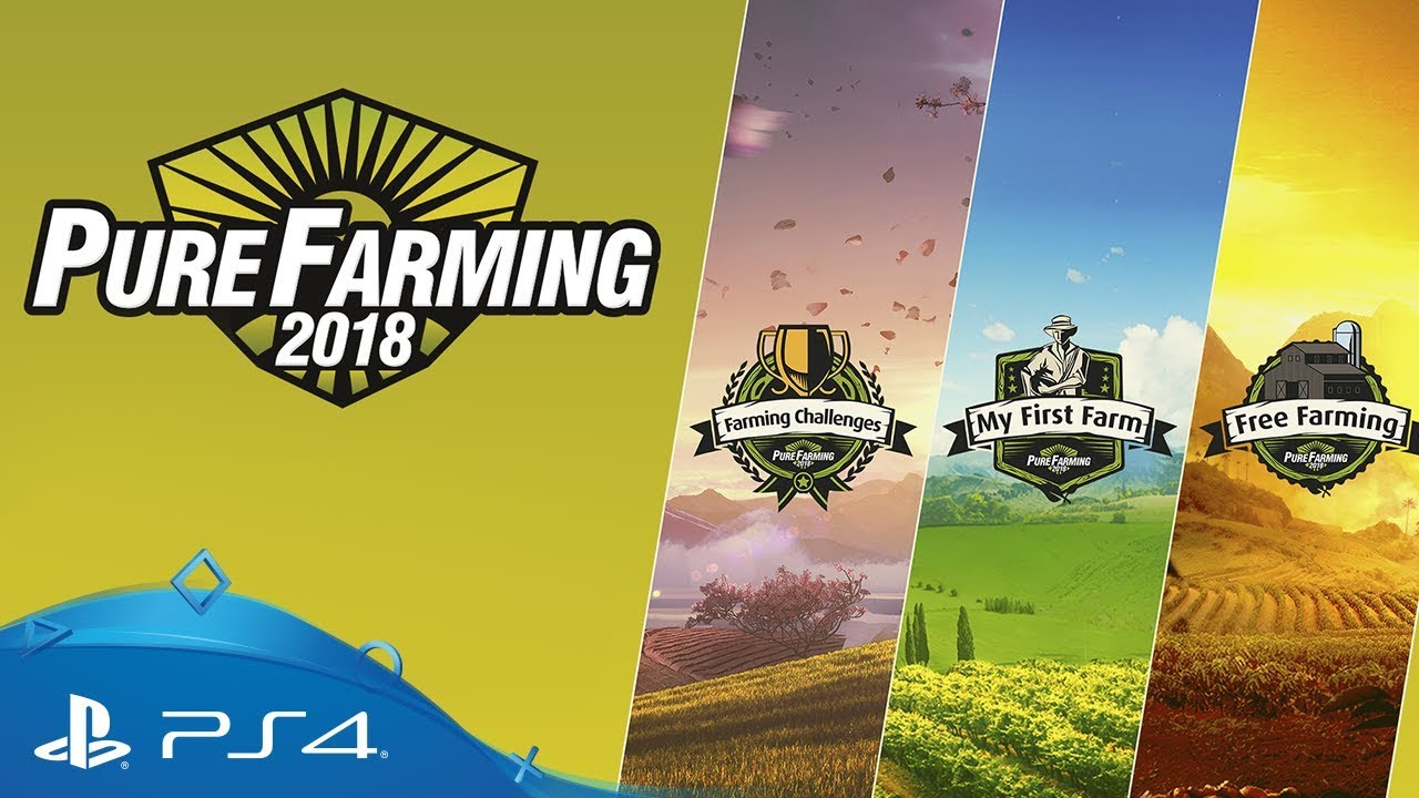 Pure Farming 2018 game modes