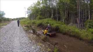5. 2013 Outlander 1000 XT vs 2013 XMR 1000 Deep Mud Run