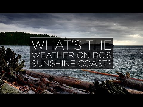 What is the weather on the Sunshine Coast?