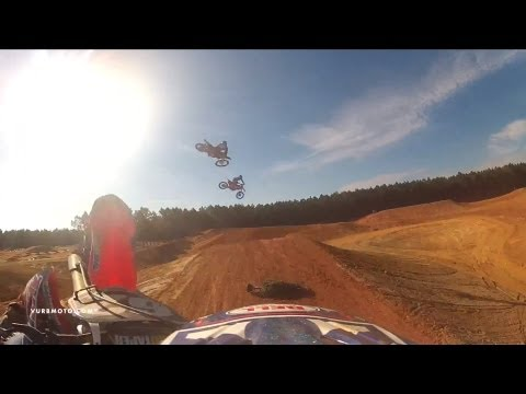 Dreamland - Jordon Smith wears the vurbmoto GoPro at Luke Renzland's new Dreamtraxx built facility, which we're entitling