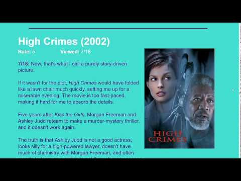 Movie Review: High Crimes (2002) [HD]