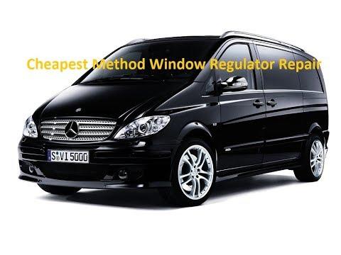 W639 Mercedes Vito Viano Power Window Repair Regulator Winder