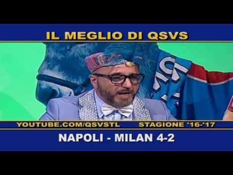 qsvs - i gol di napoli - milan 4 a 2