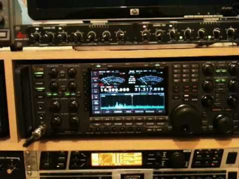 hf - A short video of my new ICOM 7800 tranceiver which I brought yesterday, I am extremely happy with it, its a trully stunning radio and the filtering is absoll...