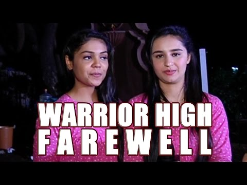 Warrior High cast in conversation