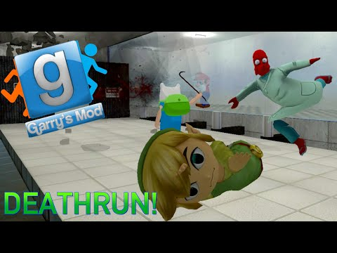 Garry's Mod Portal Deathrun Fun - The Cake, GLaDOS Voice, Knife Fight (Gmod Funny Moments) (видео)