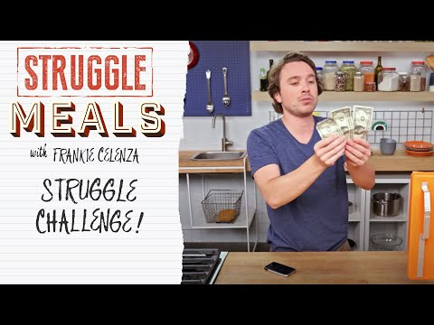 Frankie Goes to the Grocery Store with ONLY $3 | Struggle Meals