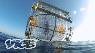 Florida Man Runs to Bermuda in a Giant Bubble