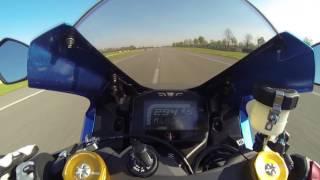 3. 2017 Suzuki GSX-R 1000R  Top Speed  0-299 km-h