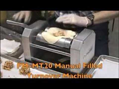 PM-MT20 Manual Filled Turnover Machine