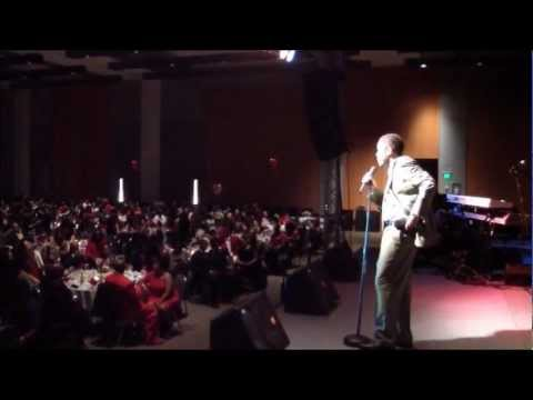 Quincy Carr performs / hosts Valentines event w/ Johnny Gill, Phil Perry, and more (Feb.12, 2012)