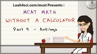 Video MCAT Math Vid 9 - Antilogs in pH and pKa Without A Calculator MP3, 3GP, MP4, WEBM, AVI, FLV September 2018