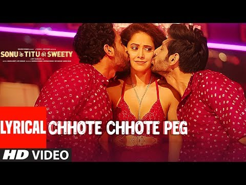 Video Chhote Chhote Peg (LYRICAL) | Yo Yo Honey Singh | Neha Kakkar | Navraj Hans | Sonu Ke Titu Ki Sweety download in MP3, 3GP, MP4, WEBM, AVI, FLV January 2017