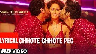 Video Chhote Chhote Peg (LYRICAL) | Yo Yo Honey Singh | Neha Kakkar | Navraj Hans | Sonu Ke Titu Ki Sweety MP3, 3GP, MP4, WEBM, AVI, FLV Desember 2018