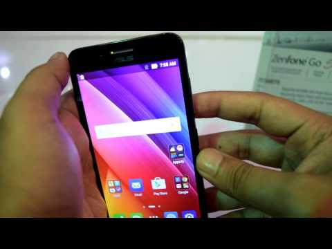 Asus Zenfone Go Hands-on Overview, specifications and camera
