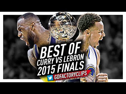 Best of LeBron James vs Stephen Curry EPIC BATTLE Highlights from 2015 Finals!
