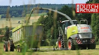 Adelebsen Germany  city photo : Grass silage with Claas Jaguar 960 near Uslar, Germany | LU Schmidt | Adelebsen