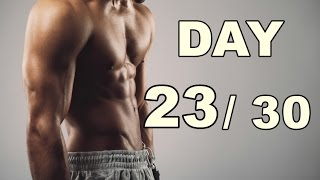 Day 23/30 Abs Workout (30 Days Abs Workout) Home Workout