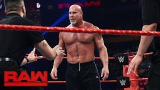 Nonton Goldberg And Brock Lesnar Meet Face To Face Before Survivor Series  Raw  Nov  14  2016 Film Subtitle Indonesia Streaming Movie Download